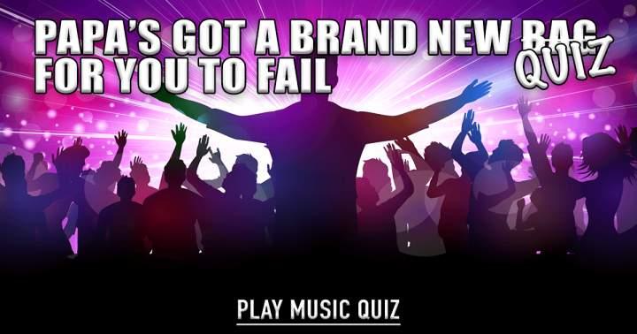 Brand New Music Quiz