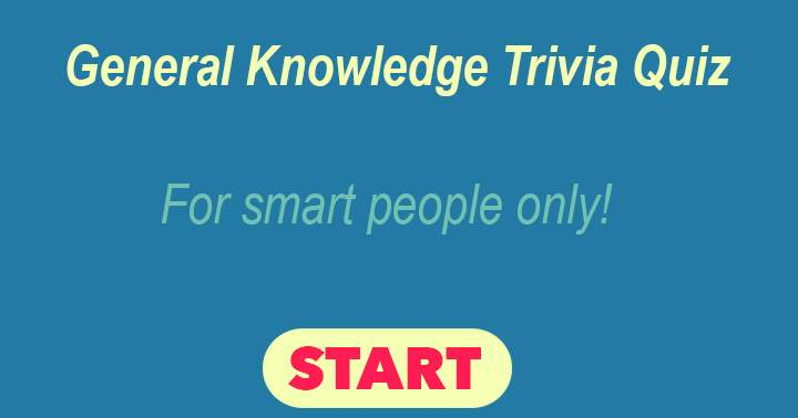 Mixed Knowledge Quiz. For the smart people among us.
