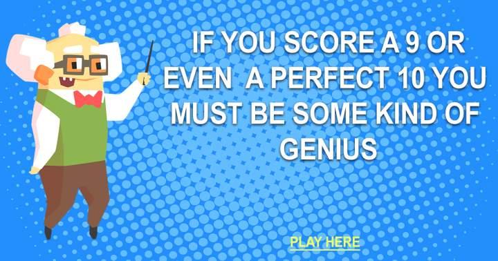 Trivia Quiz For Geniuses