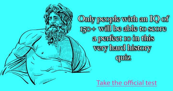 History Intelligence Quiz