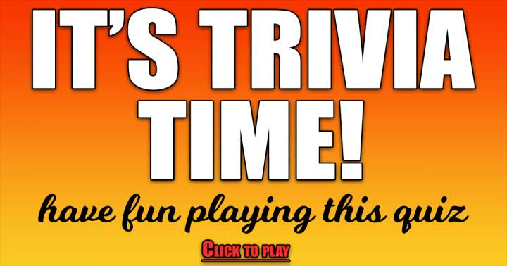It's Trivia Time!