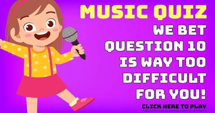 Fantastic Music Quiz