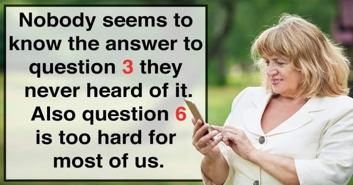 Hard Mixed Trivia Questions